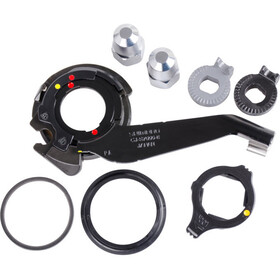 Shimano Alfine Composants de moyeu 8 vitesses SM-S7000-8 Patte de dérailleur standard, black